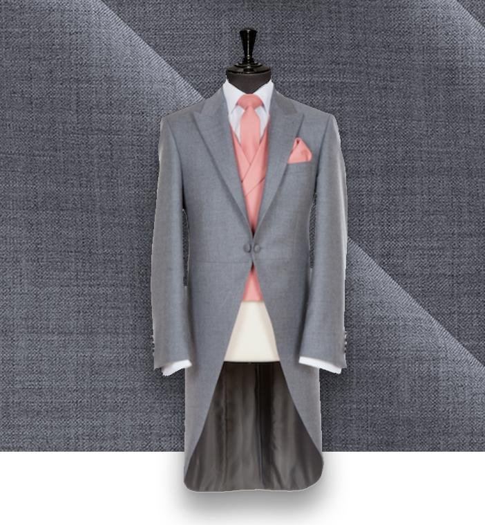 jaquette grise mariage cérémonie costume privé paris